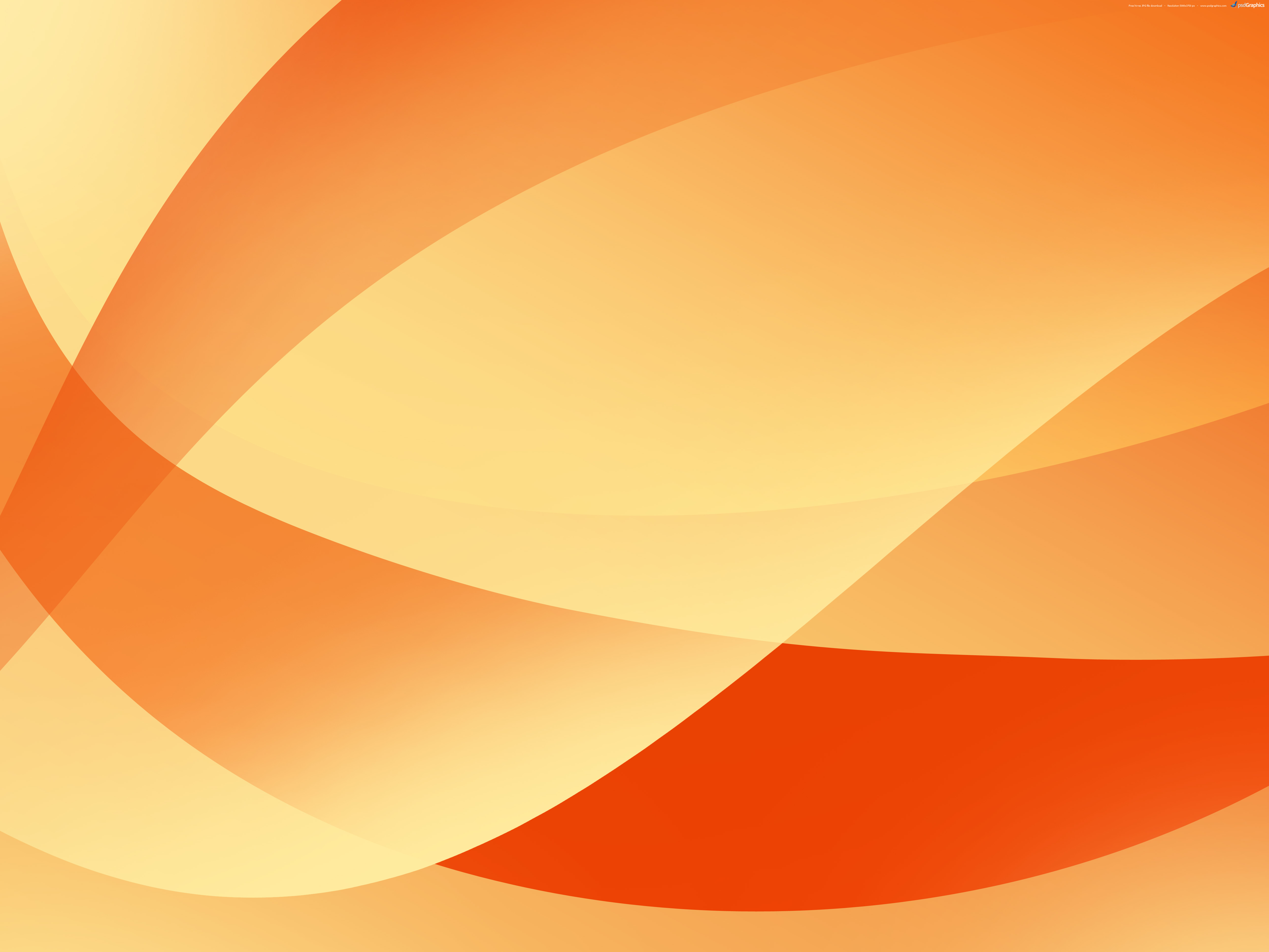 Abstract orange backgrounds | PSDGraphics