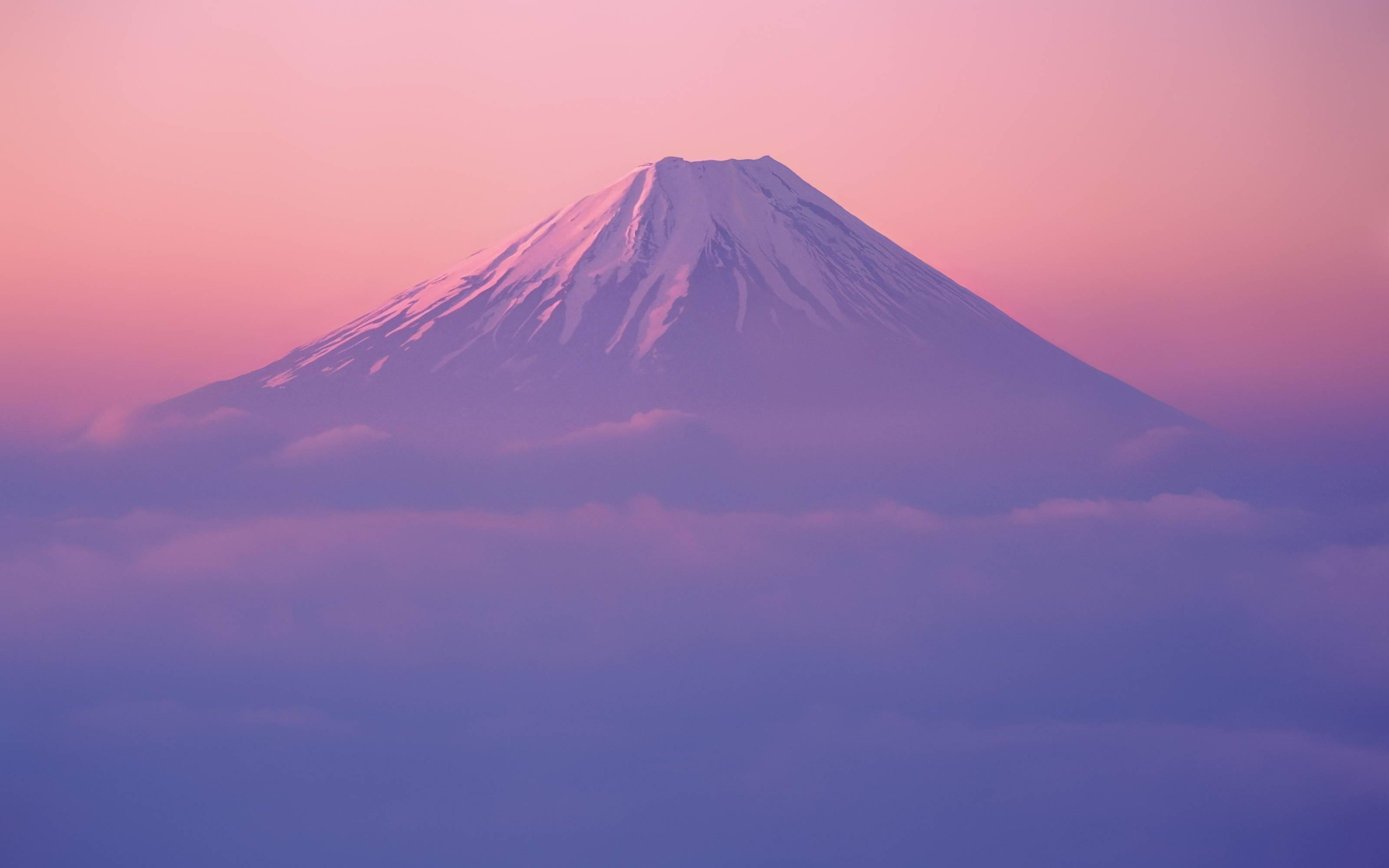 New Mt Fuji Wallpaper in Mac OS X Lion Developer Preview 2
