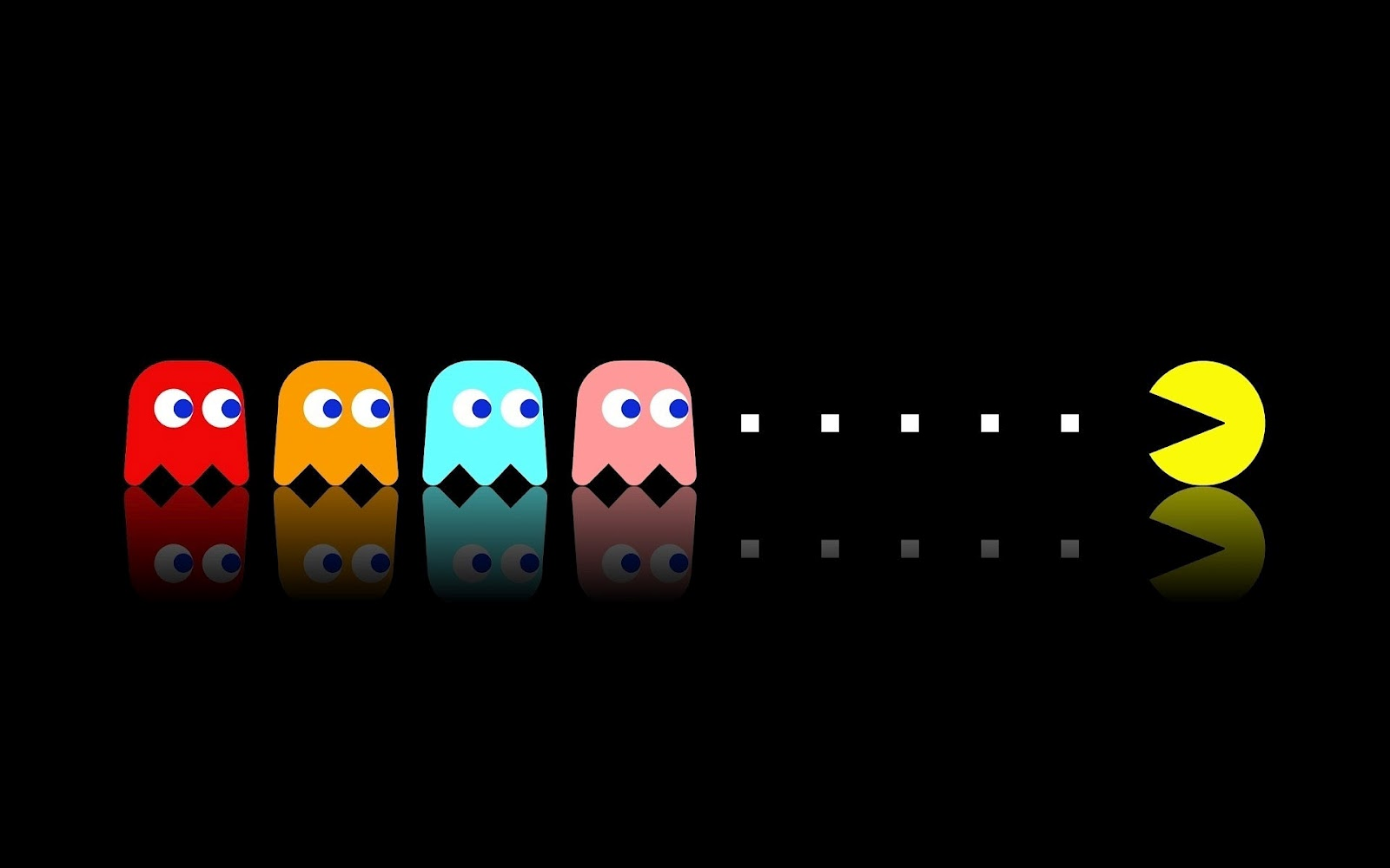 Animated Pac Man Wallpaper   WallpaperSafari