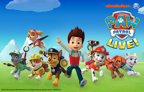 Paw Patrol Live! Race to the Rescue | PlayhouseSquare