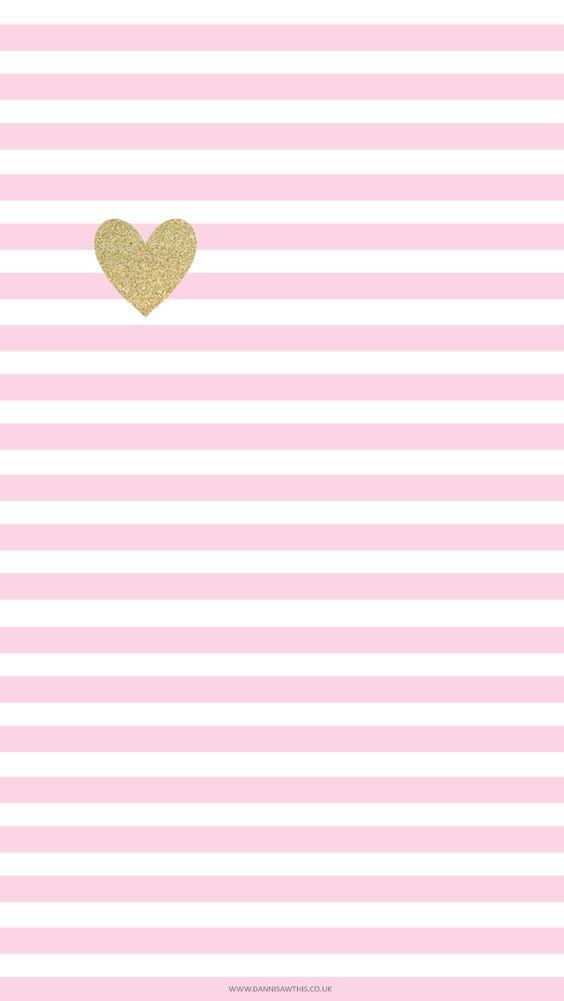 Free Little Gold Heart Take 2 iPhone Wallpaper http://iphonetokok