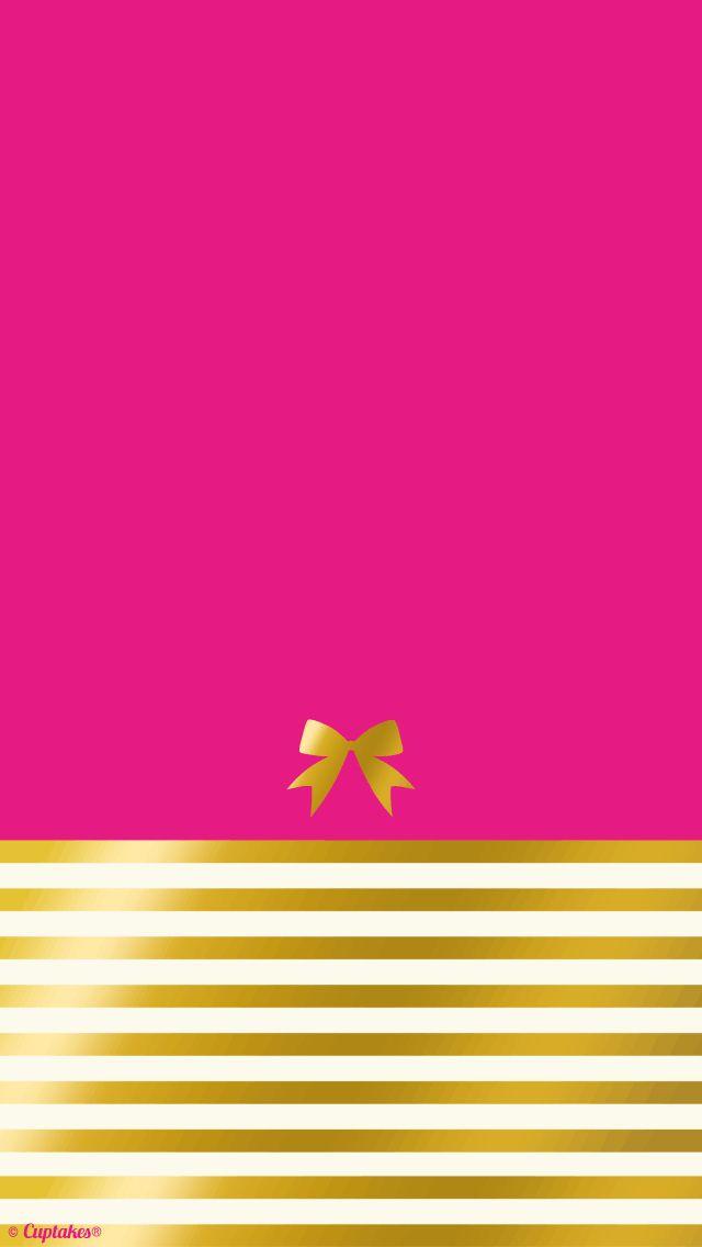 Pink and Gold Wallpaper - WallpaperSafari