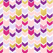 pink and gold fabric, wallpaper & gift wrap - Spoonflower