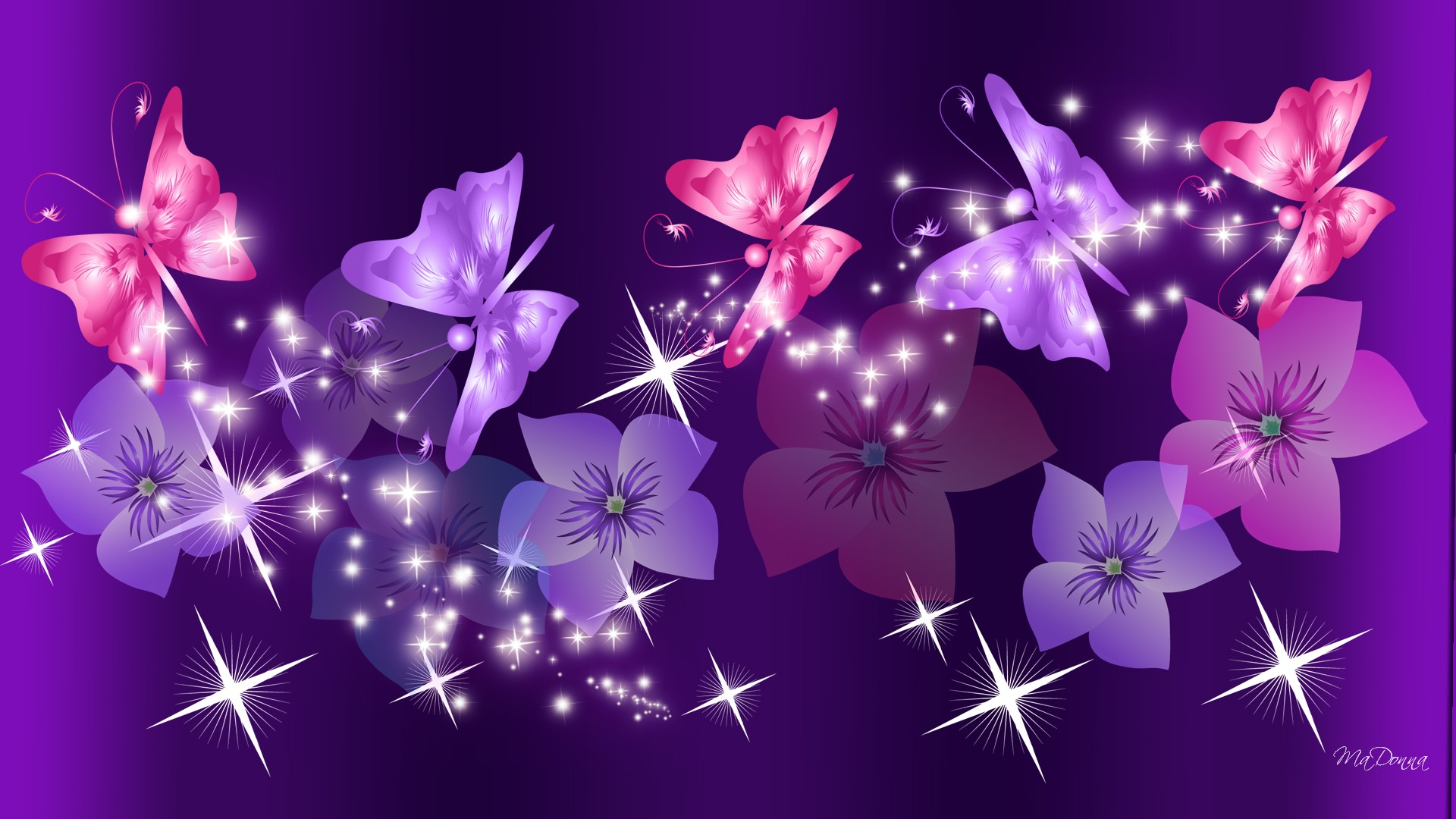 Pink And Purple Wallpapers Sf Wallpaper