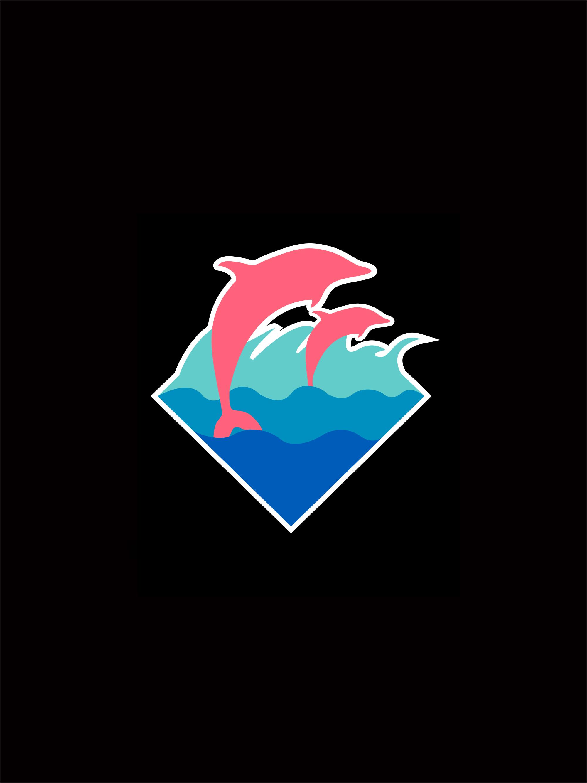 Pink Dolphin Wallpaper Sf Wallpaper