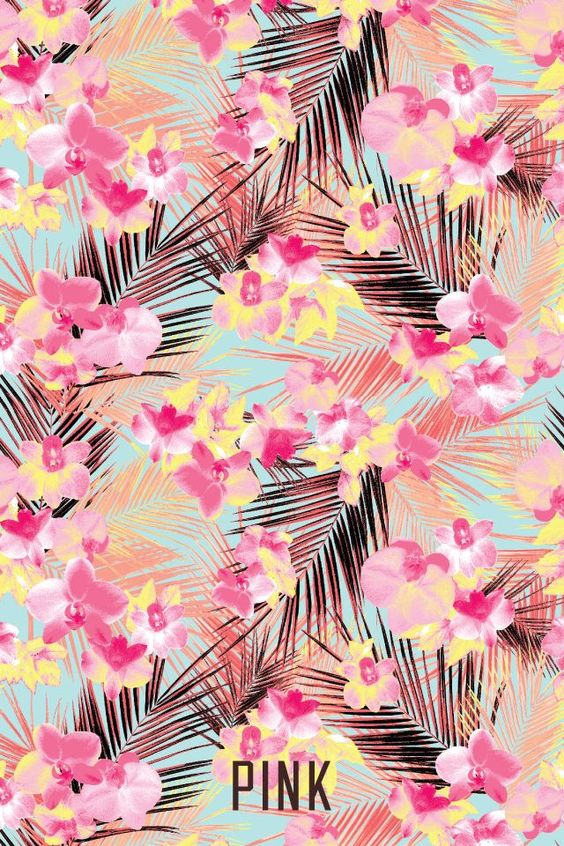 victoria secret pink wallpaper tumblr - Google Search | Tropical