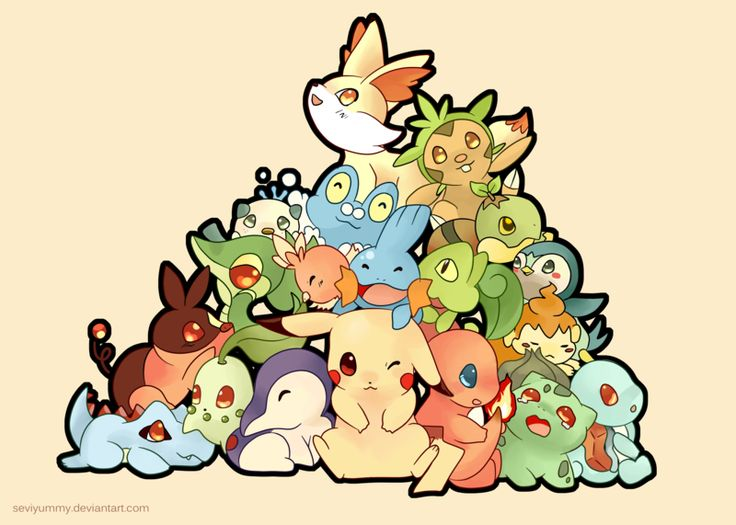 1000 Ideas About Cute Pokemon Wallpaper On Pinterest