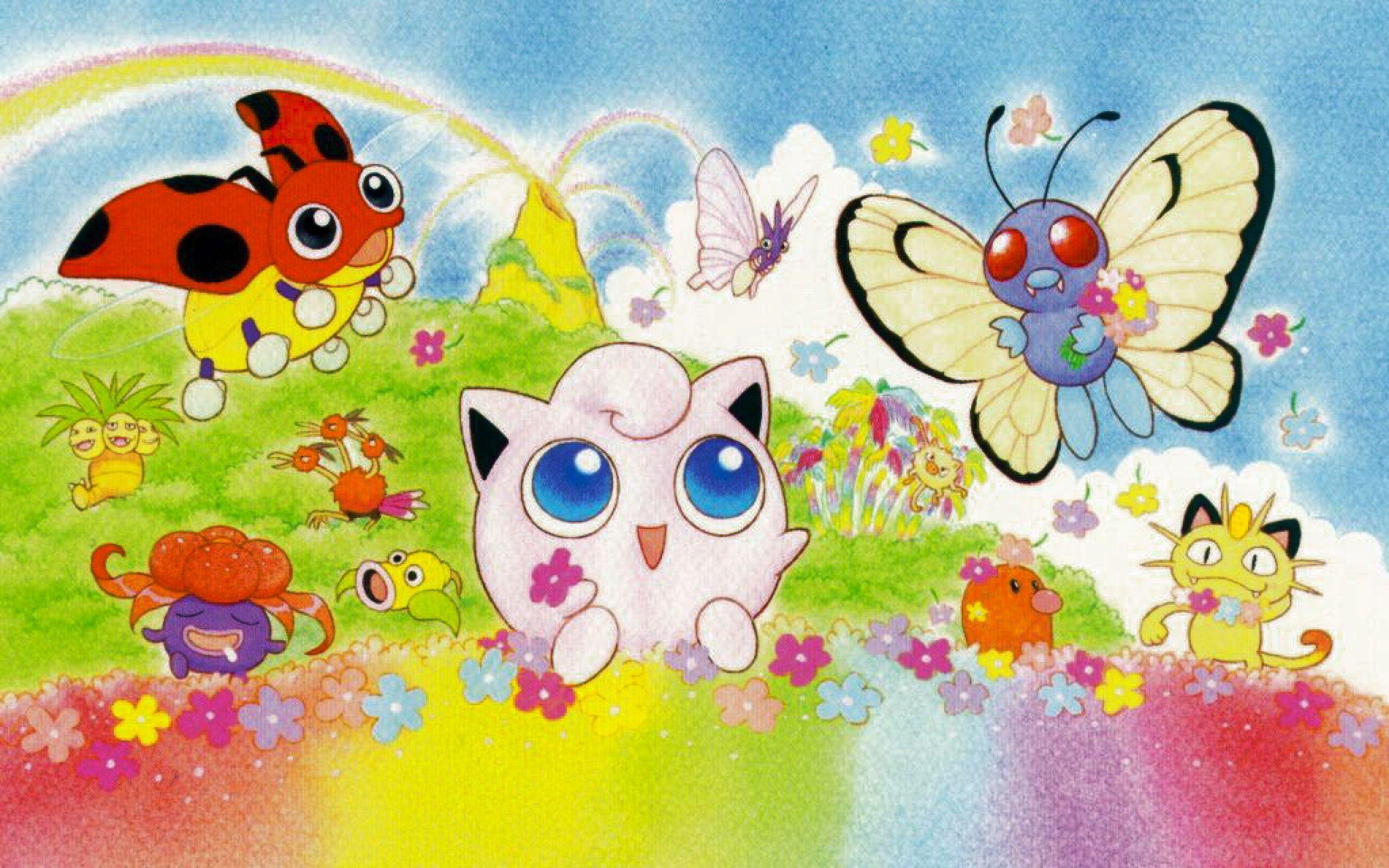 Pokemon wallpaper cute sf wallpaper cute pokemon wallpapers wallpaper cave voltagebd Choice Image