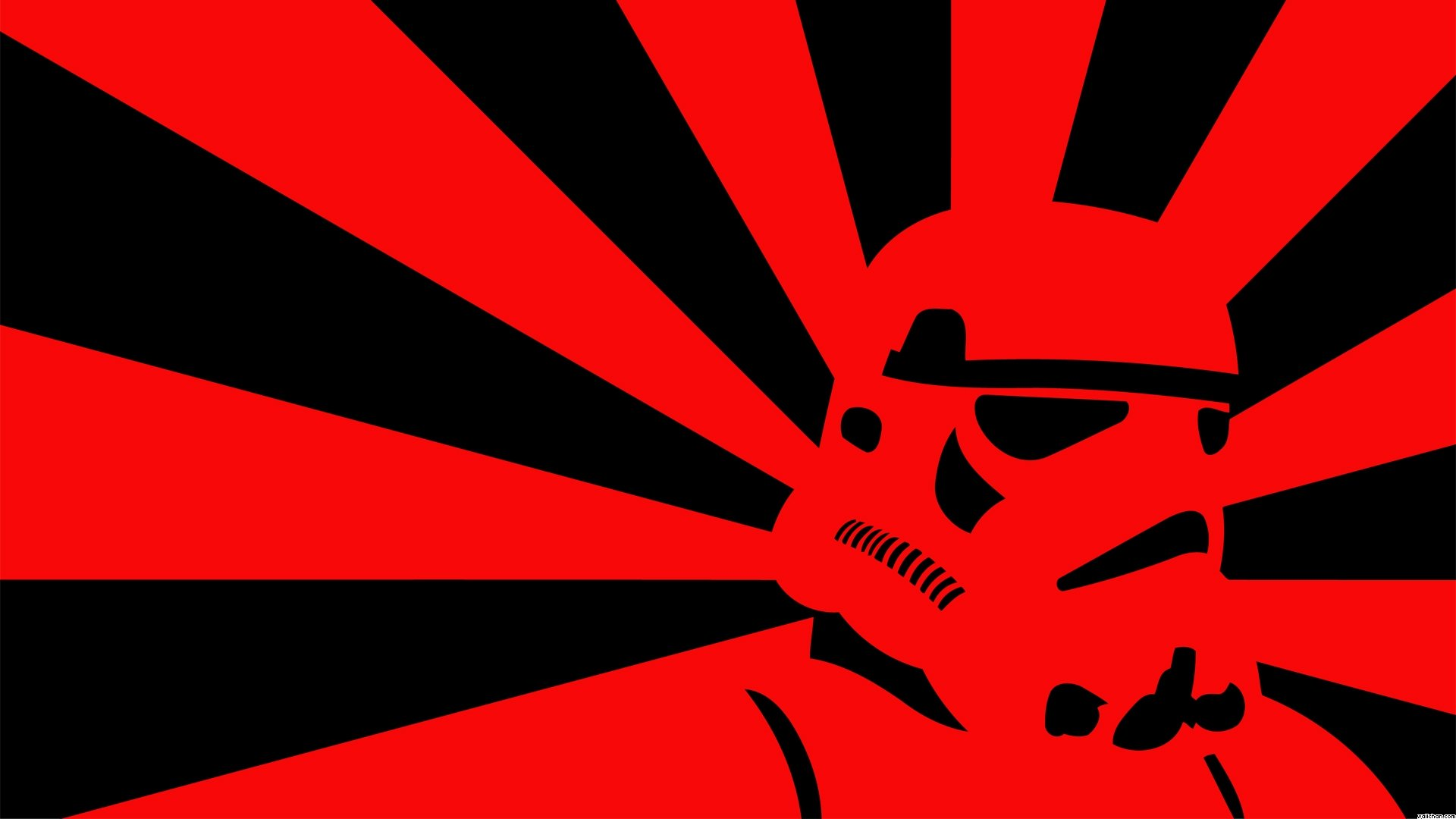 Stormtrooper Pop Art Wallpaper