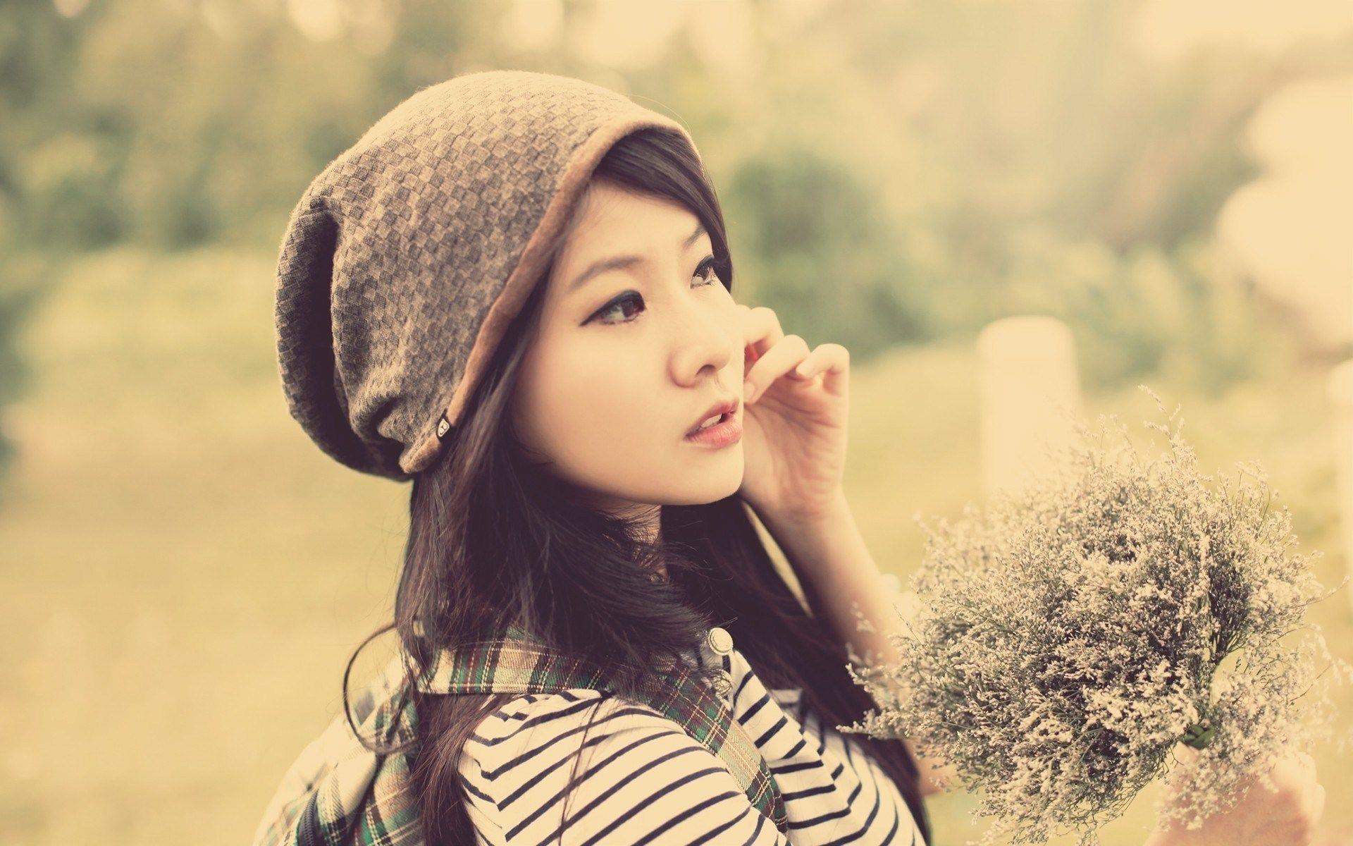 pretty asian girl wallpaper - sf wallpaper