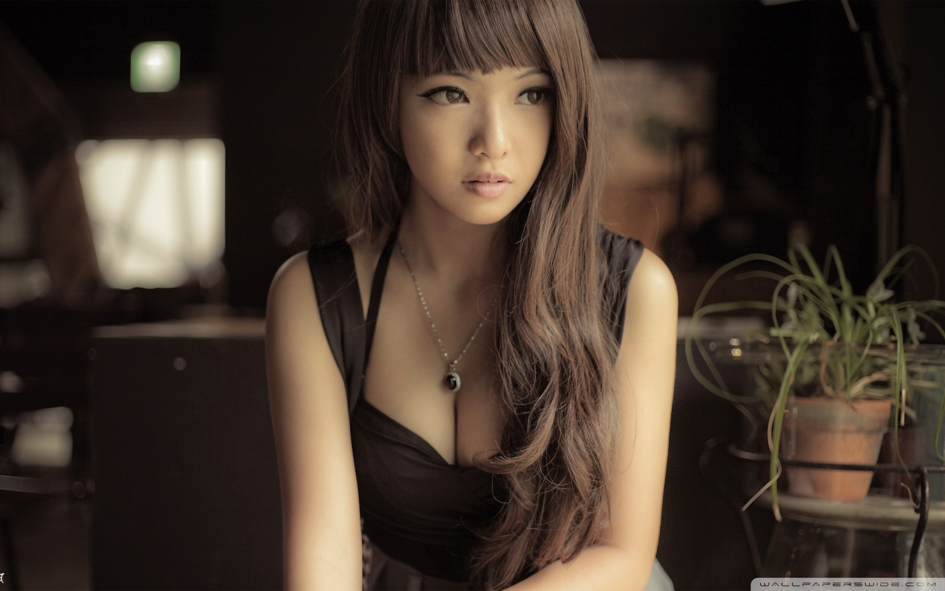 Beautiful Asian Girl HD desktop wallpaper : High Definition