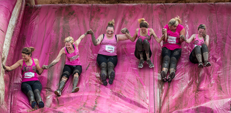 Pretty Muddy® events | Race for Life | Cancer Research UK