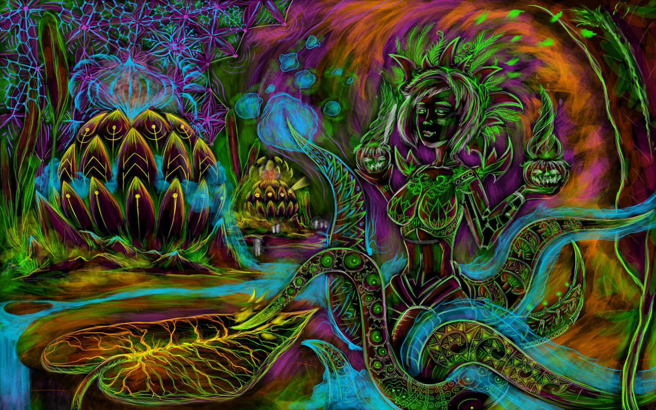 Trippy Psychedelic Art | You'll find the psychedelic wallpaper and