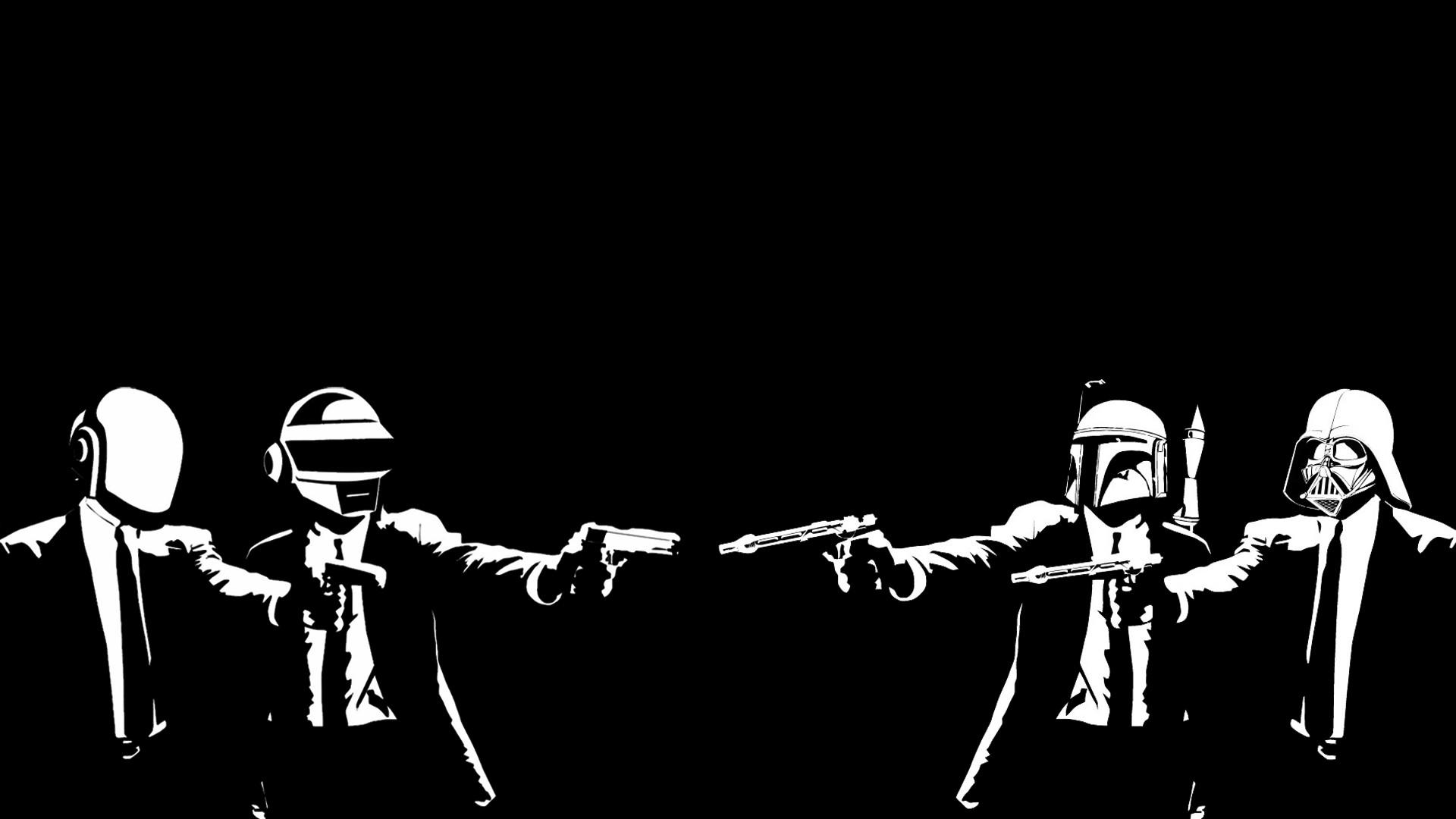 Photoshop Request] Pulp Fiction theme Destiny wallpaper