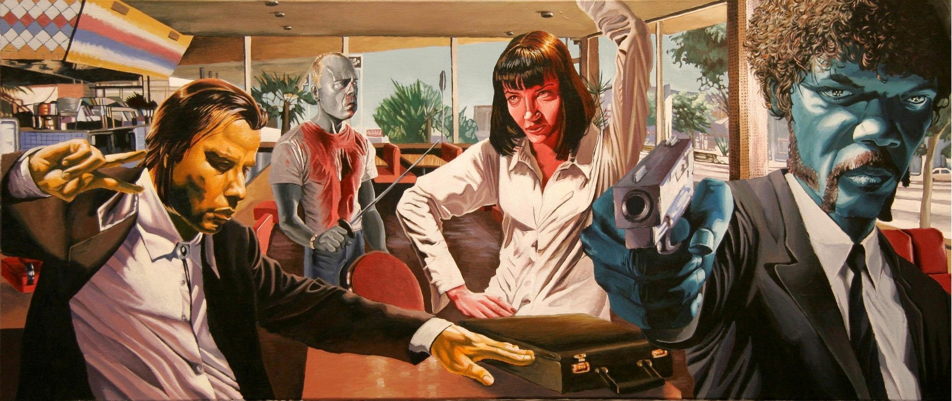 Pulp Fiction Wallpaper Sf Wallpaper