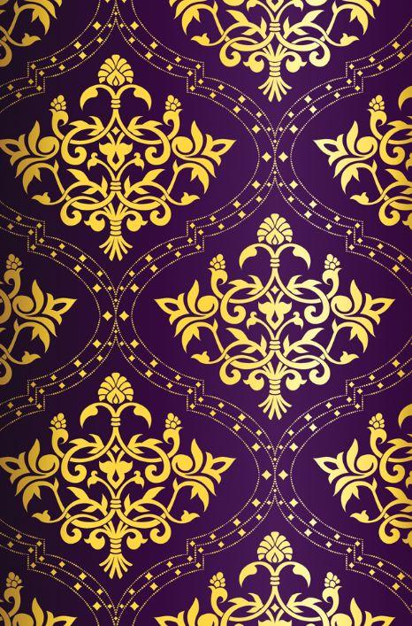 beautiful purple and gold pattern |    UW Seattle    | Pinterest
