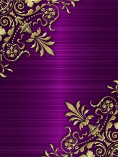 Purple and Gold Background Design – Design & art