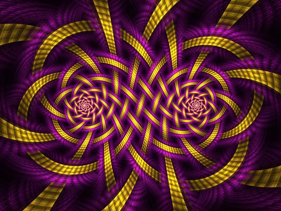 Purple Gold Wallpaper