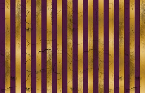 Distressed Stripes Purple and Gold wallpaper - kellyw - Spoonflower