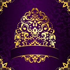 Purple And Gold Wallpaper Purple wallpaper with gold | Fit For A