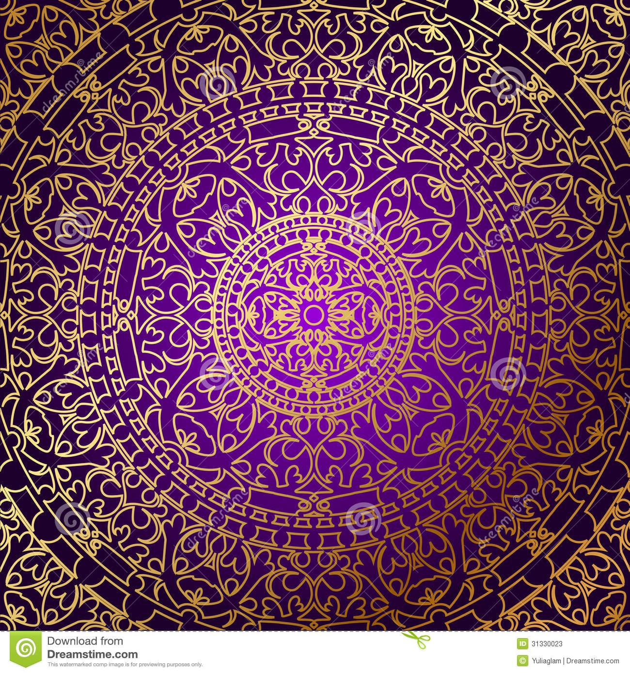 Purple and Gold Wallpaper - WallpaperSafari