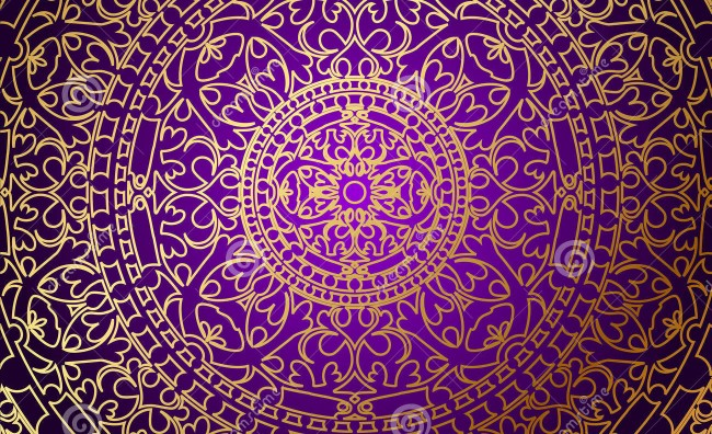 Purple and Gold Wallpaper – Free wallpaper download