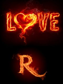 Download Letter R wallpapers to your cell phone - alphabet letter