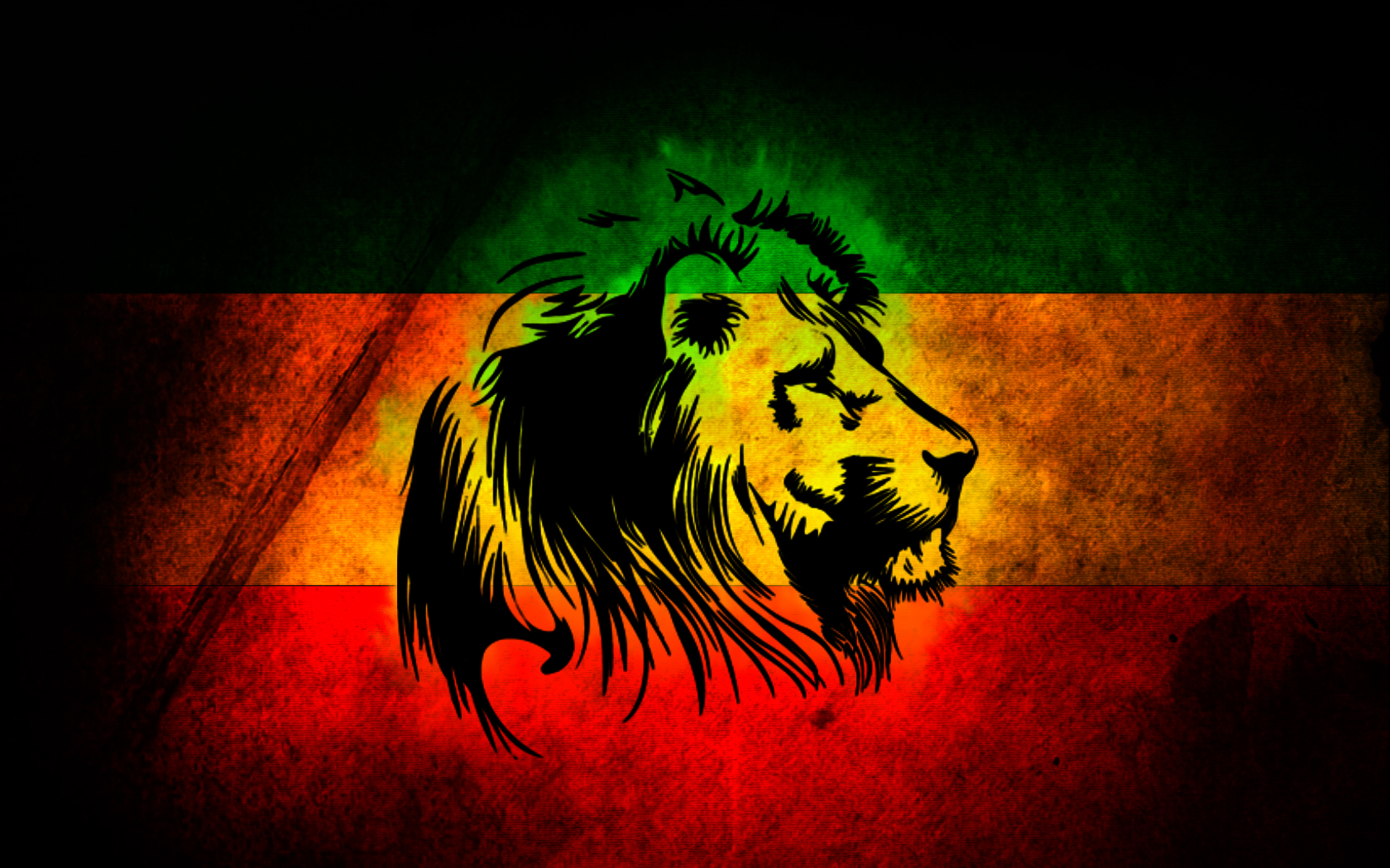 Rastafarian Flag - wallpaper