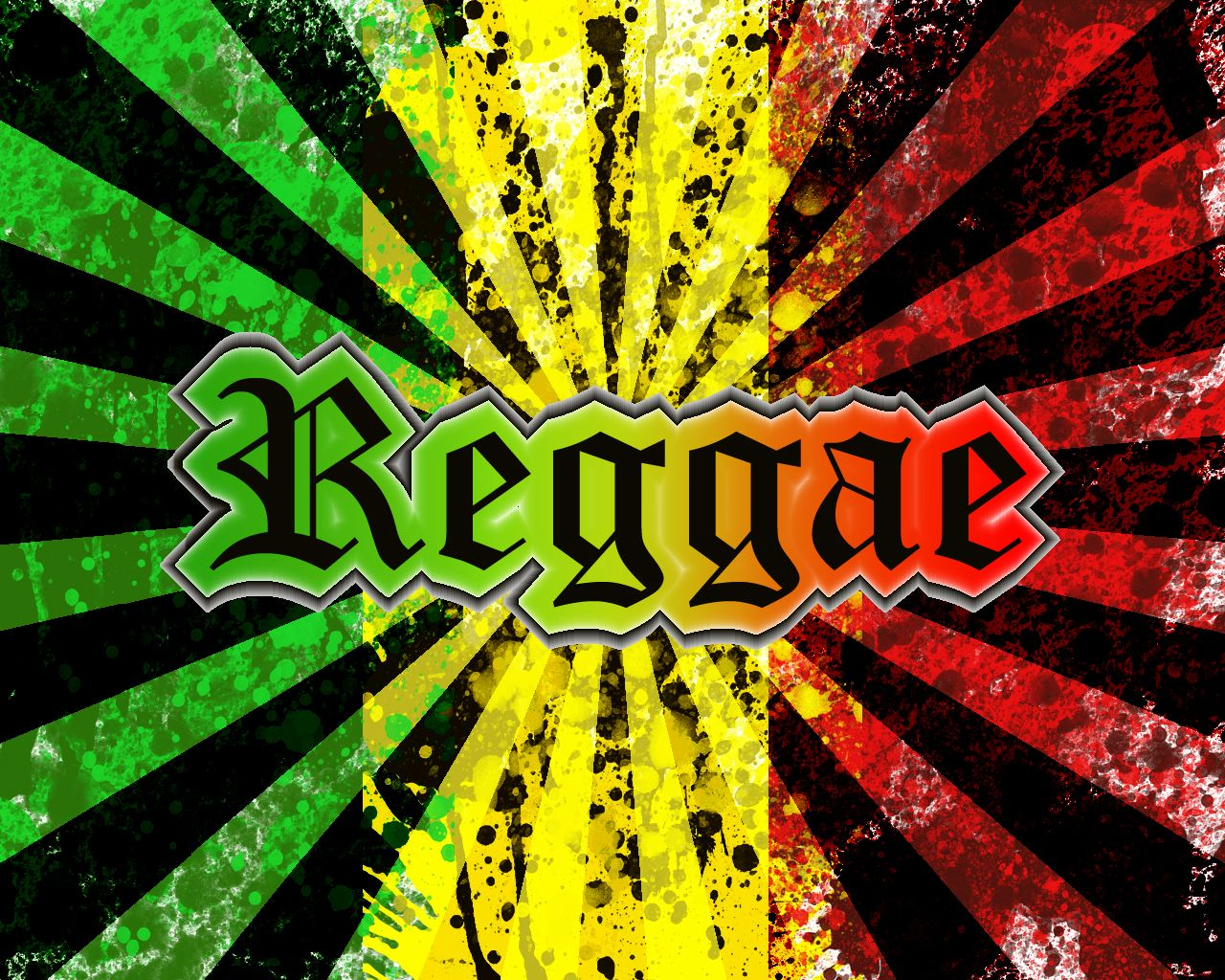 Rastafarian Colors - wallpaper