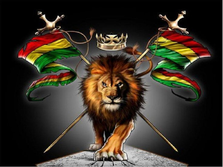 Rasta Lion Wallpapers Group (53+)