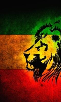 Rasta Lion Tattoo - wallpaper