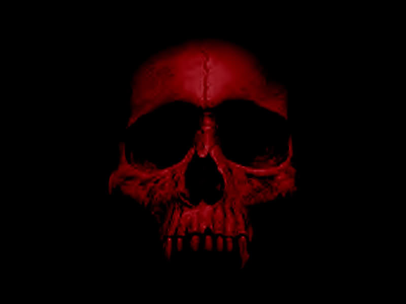 Pics For > Red Skull Wallpaper | skulls | Pinterest | Skull