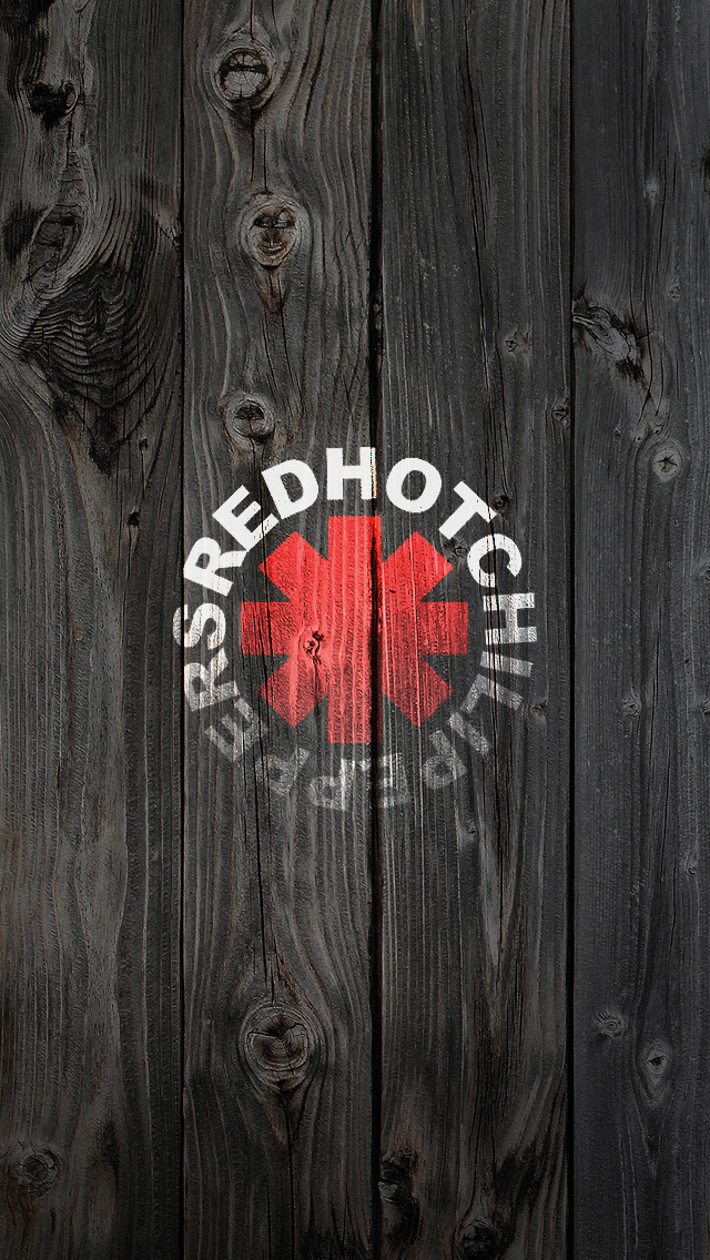 Red Hot Chilli Peppers iPhone 5 Wallpaper (640x1136)