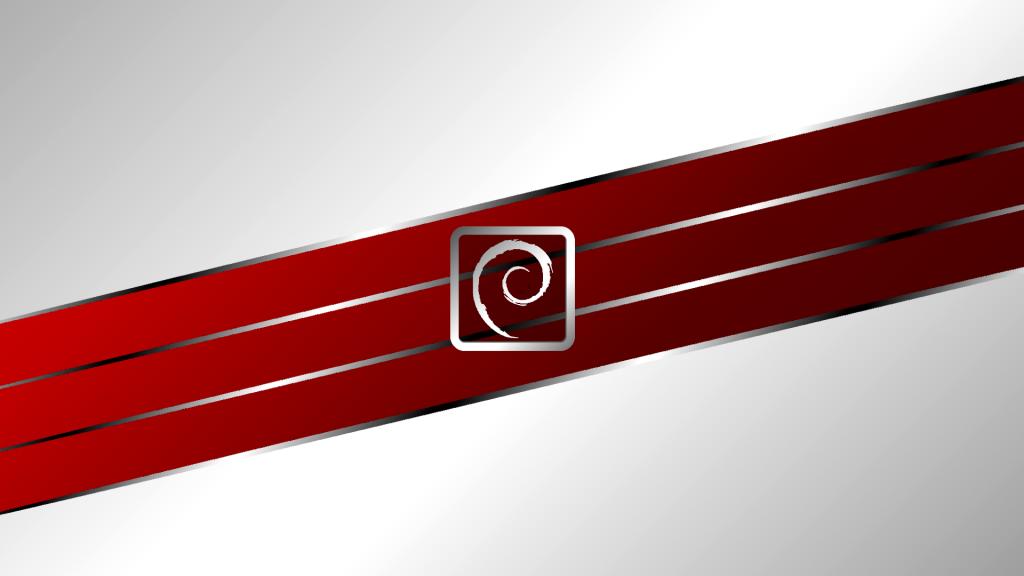 Debian red line wallpaper by Ivanmladenovi on DeviantArt