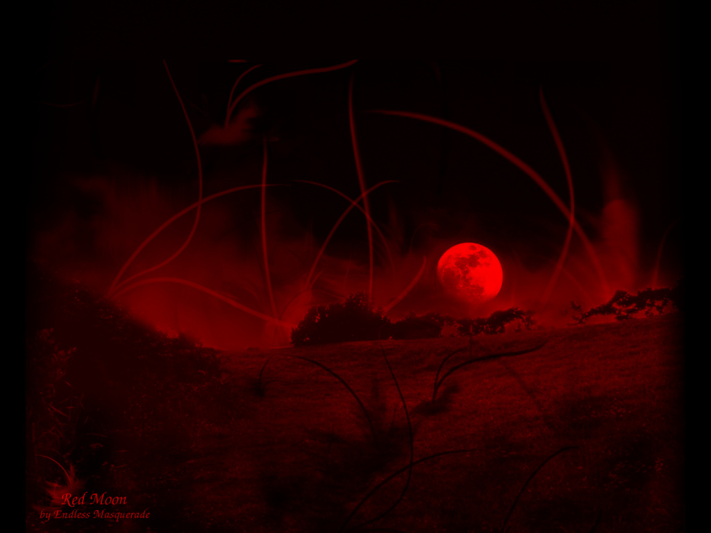Blood Red Moon Wallpaper - WallpaperSafari