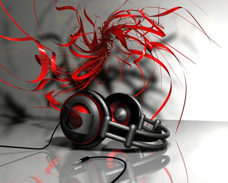 Red Music Note Wallpaper - WallpaperSafari
