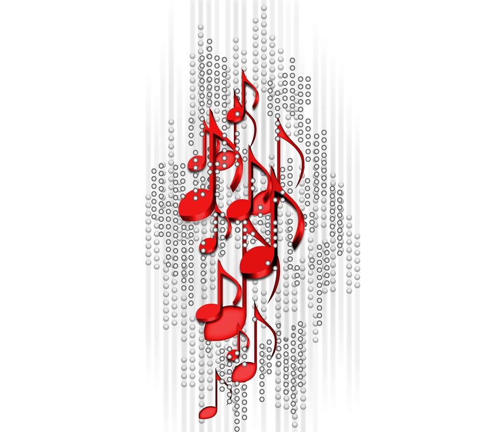 Red Music Wallpaper Sf Wallpaper