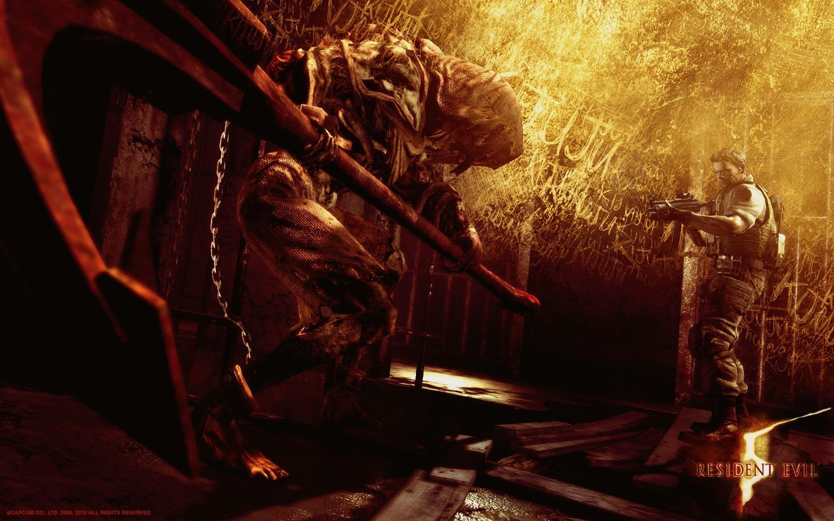 Resident Evil 5 Wallpapers Sf Wallpaper