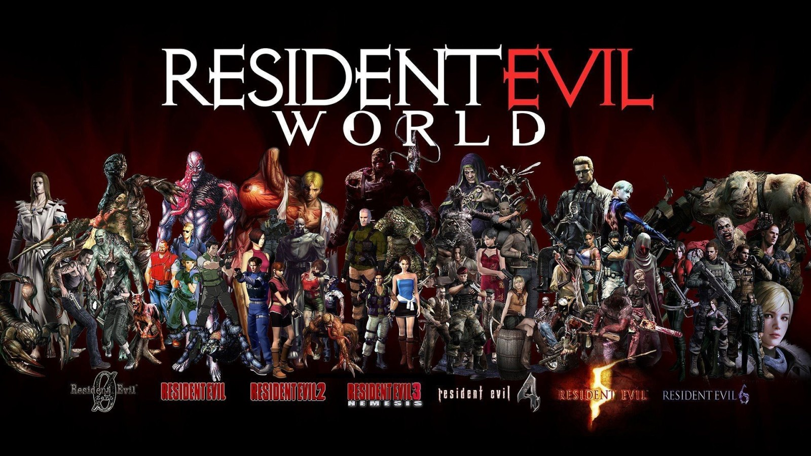 Resident Evil Wallpaper Collection For Free Download
