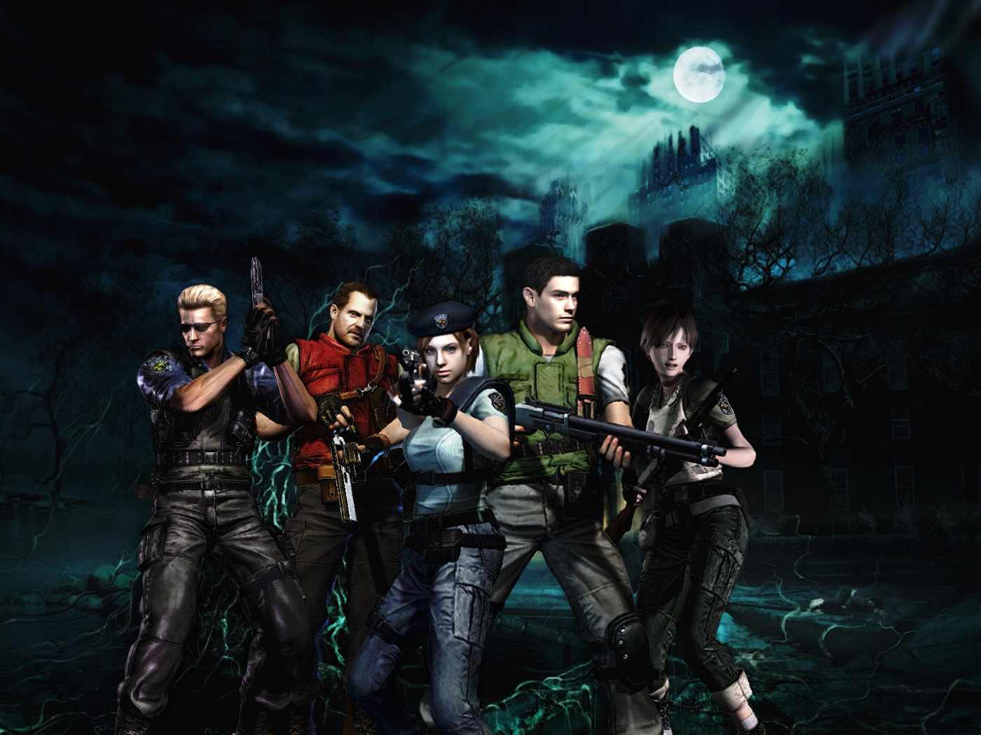 Resident Evil Wallpapers High Quality | Download Free