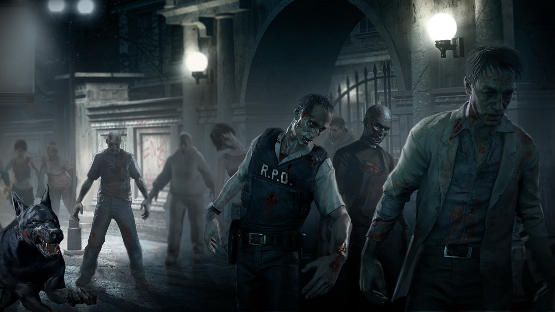 Resident Evil Wallpaper 1920x1080 - WallpaperSafari