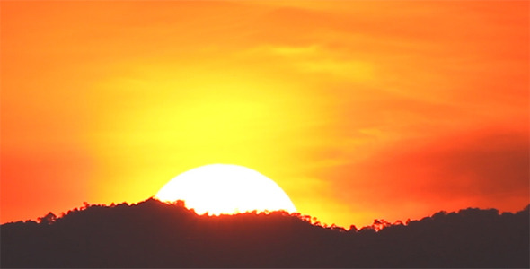 Rising Sun Close Up II by azamshah72v | VideoHive