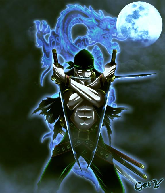 Roronoa Zoro 3 Sword Style Anime Wallpaper HD 1920×1080 | Anime
