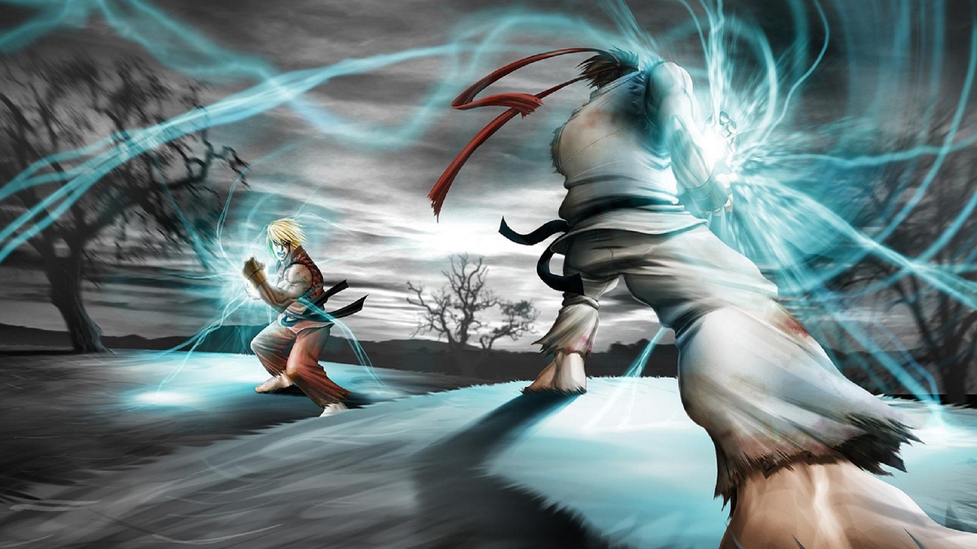Ryu Vs Ken Wallpaper Sf Wallpaper