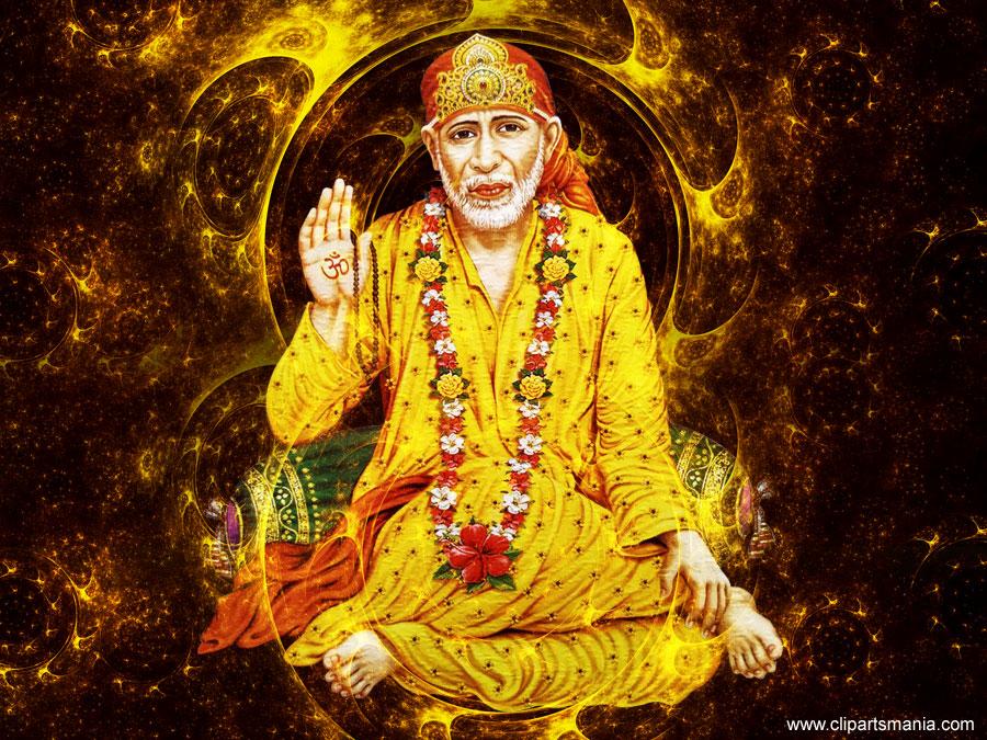 Shirdi Sai Baba God Wallpapers | Sai Ram God Desktop Wallpapers