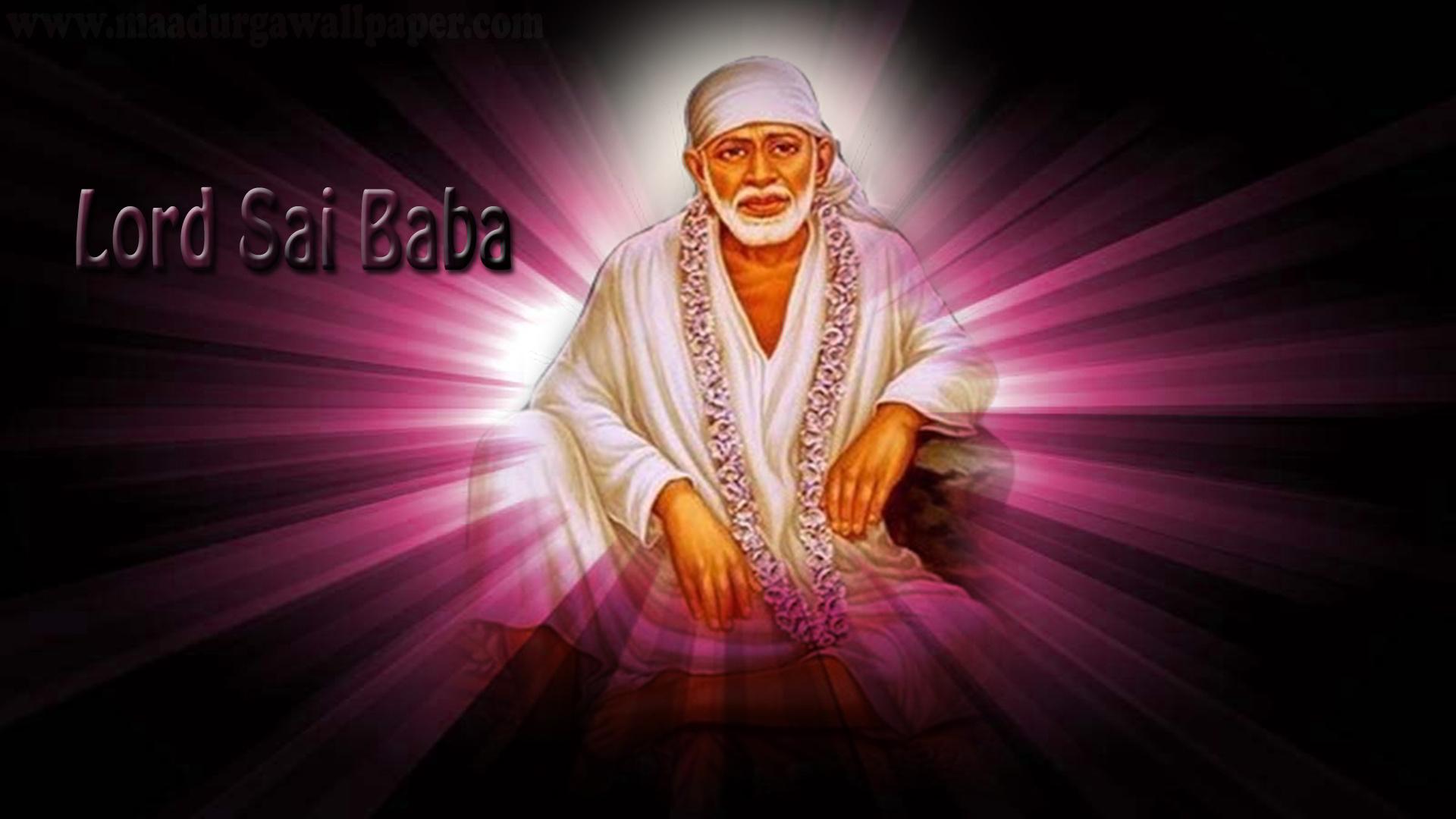 Sai baba Wallpaper | Sai Baba images | Shirdi Sai Baba HD Photo