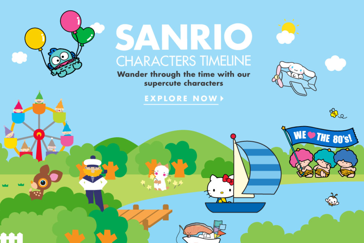 Our Characters | Official Home of Hello Kitty & Friends | Sanrio