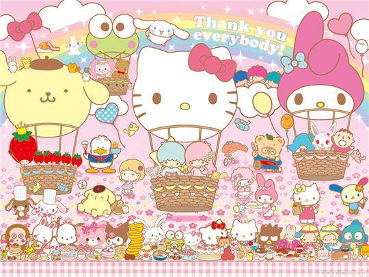 Sanrio Characters Wallpaper | Kawaii | Pinterest | Sanrio