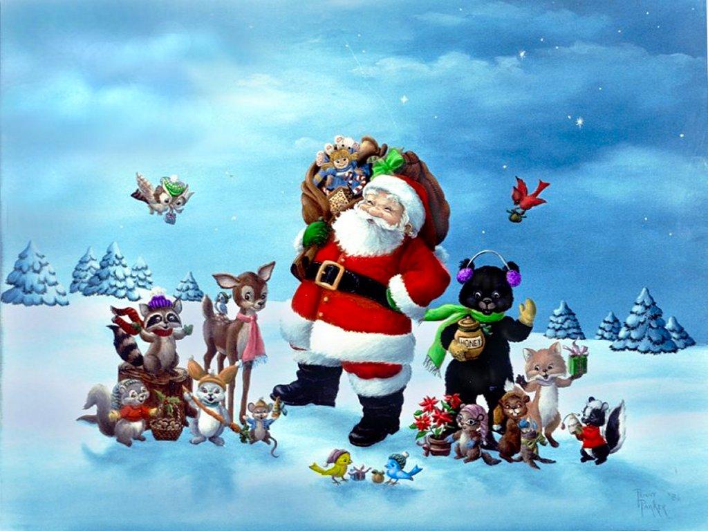 Santa claus wallpaper for desktop