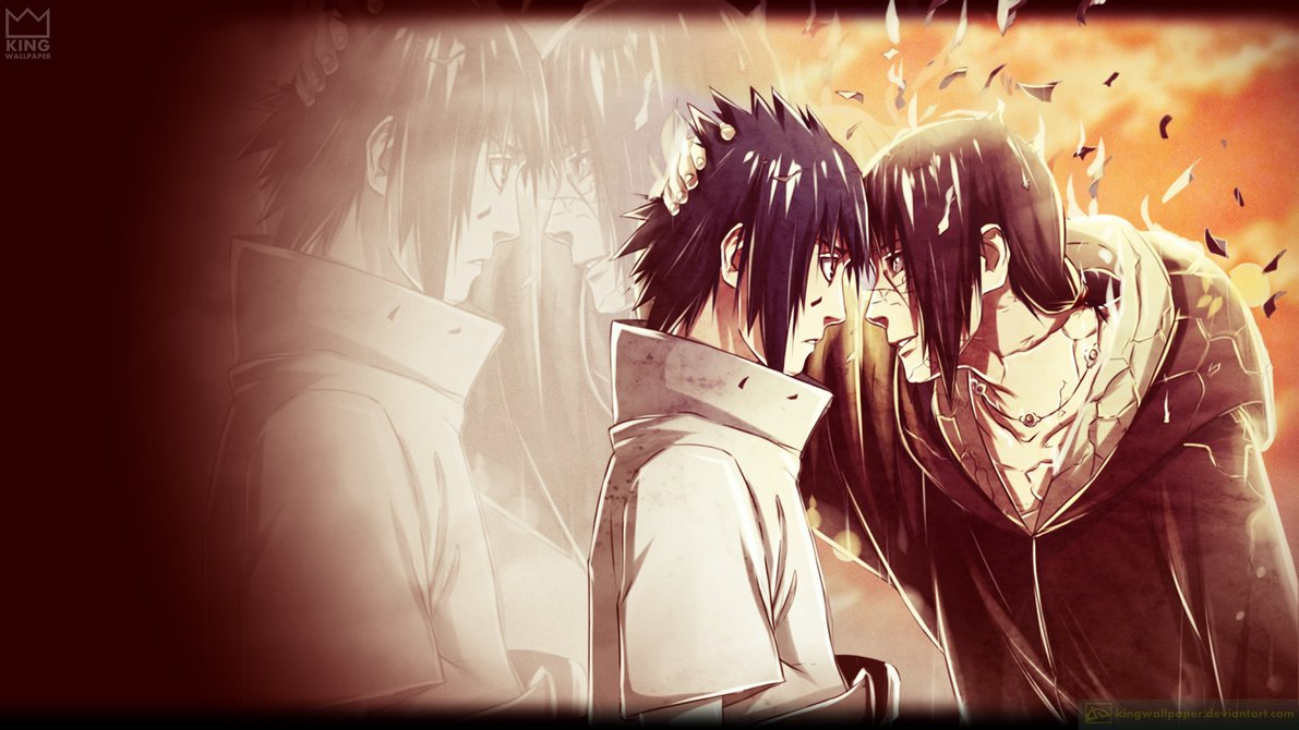 sasuke and itachi wallpaper #1